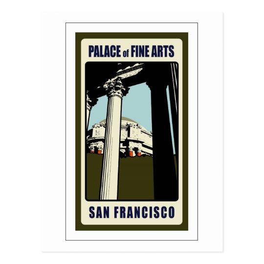 Palace of Fine Arts Postcard