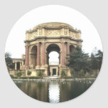 Palace of Fine Arts Round Stickers