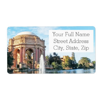 Palace of Fine Arts - San Francisco Label