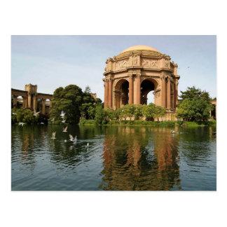 Palace of Fine Arts, San Francisco Postcard