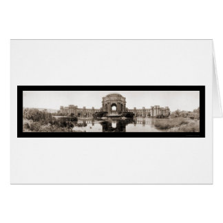 Palace of Fine Arts SF Photo 1919 Card