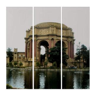 Palace Of Fine Arts Triptych