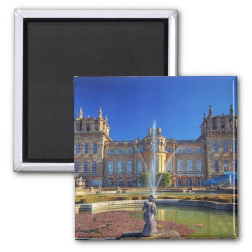 Palace of France 2 Inch Square Magnet