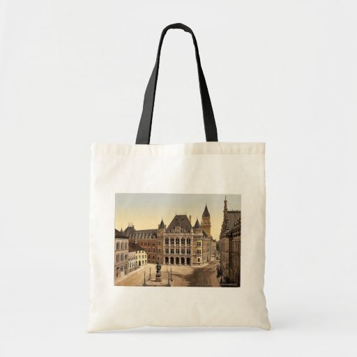 Palace of Justice, Bremen, Germany magnificent Pho Budget Tote Bag
