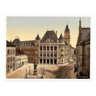 Palace of Justice, Bremen, Germany magnificent Pho Postcard