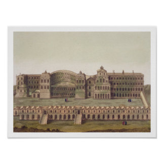 Palace of the Caesars, Rome, from 'Le Costume Anci Poster