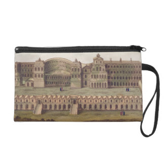 Palace of the Caesars, Rome, from 'Le Costume Anci Wristlet Purse