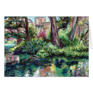 "Palace of the Fine Arts ""Serenity"" Greeting Card"