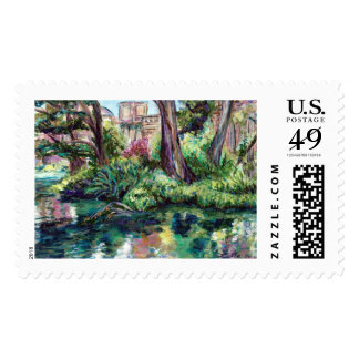"""Palace of the Fine Arts """"Serenity"""" Postage Stamp"""
