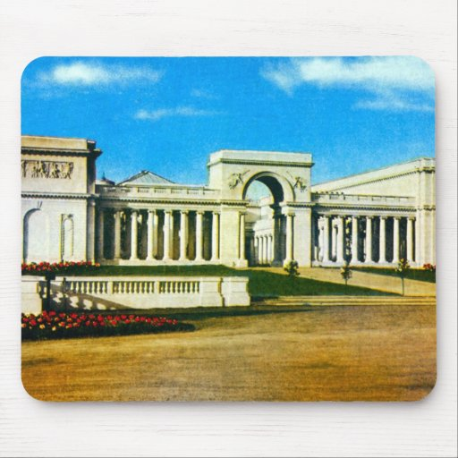 Palace of the Legion of Honor Mouse Pad