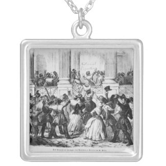 Palace of the Princes of Prussia in Berlin Silver Plated Necklace