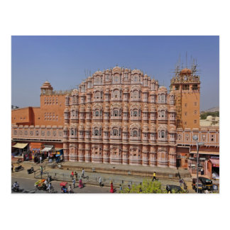 Palace of the Winds (Hawa Mahal), Jaipur, India, Postcard