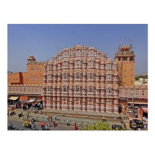 Palace of the Winds (Hawa Mahal), Jaipur, India, Post Card