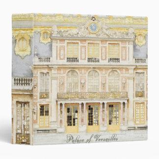 Palace of Versailles 3 Ring Binder