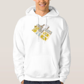 Palace of Versailles. France Hooded Pullover