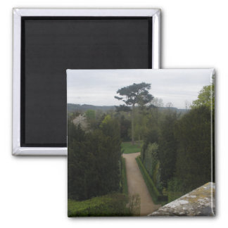 Palace of Versailles Garden France 2 Inch Square Magnet