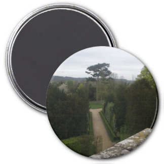 Palace of Versailles Garden France 3 Inch Round Magnet