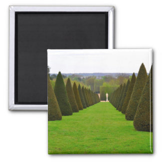 Palace of Versailles Garden in the Île-de-France 2 Inch Square Magnet