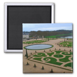 Palace of Versailles Garden in the Île-de-France r 2 Inch Square Magnet