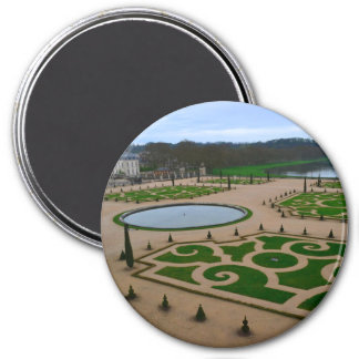Palace of Versailles Garden in the Île-de-France r 3 Inch Round Magnet