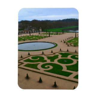 Palace of Versailles Garden in the Île-de-France r Rectangular Photo Magnet