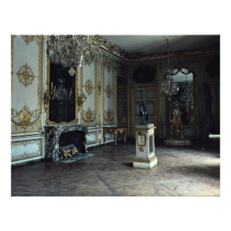 Palace of Versailles, the Clock Drawing Room, Fran Flyer Design