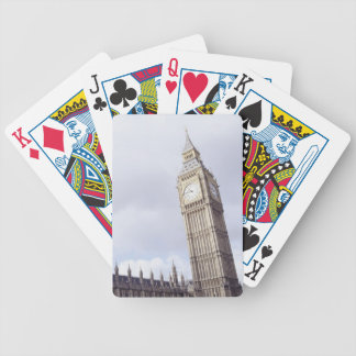Palace of Westminster and Big Ben Bicycle Playing Cards