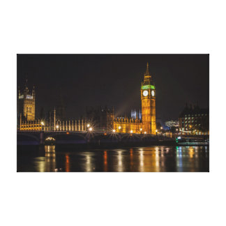 Palace of Westminster and Big Ben Canvas Print