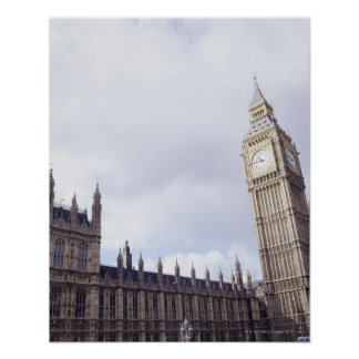 Palace of Westminster and Big Ben Poster