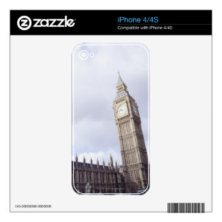 Palace of Westminster and Big Ben Skins For iPhone 4S