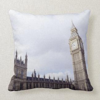 Palace of Westminster and Big Ben Throw Pillows