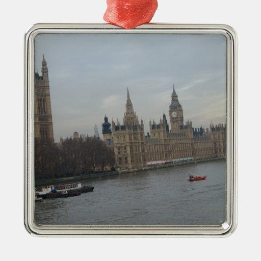Palace Of Westminster Christmas Ornament