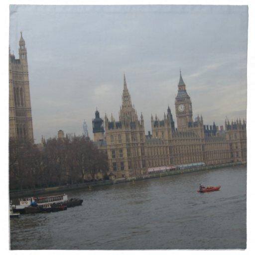 Palace Of Westminster Cloth Napkins