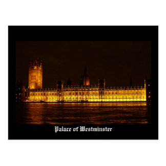 Palace of Westminster Postcard