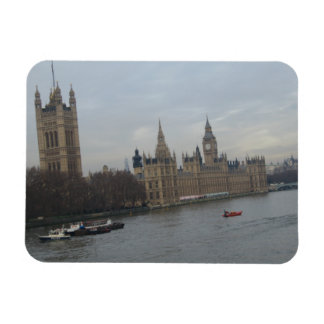 Palace Of Westminster Rectangular Photo Magnet