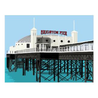 Palace Pier Brighton Postcard