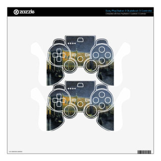 Palace rains in Venice by moonlight by  Aivazovsky PS3 Controller Skin