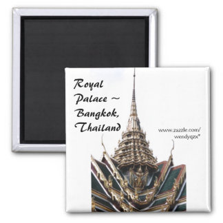 Palace Roof 2 Inch Square Magnet