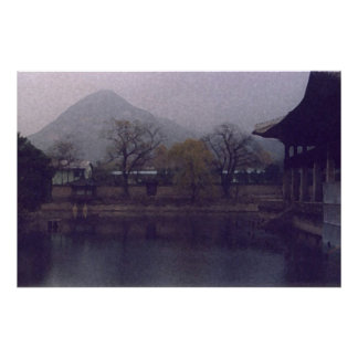 Palace, South Korea Poster