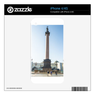 Palace Square St Petersburg Russia iPhone 4 Decals