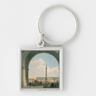 Palace Square, View from the Arch of the Army Key Chain