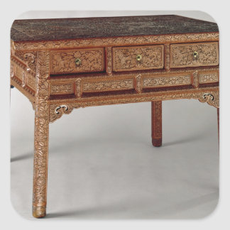 Palace table, Ming Dynasty, Hsuan Te Period Square Sticker