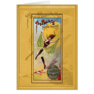 Palace Theatre of Varieties Card