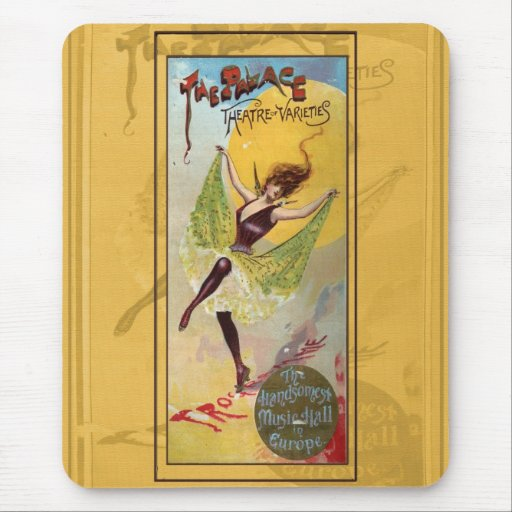 Palace Theatre of Varieties Mouse Pad