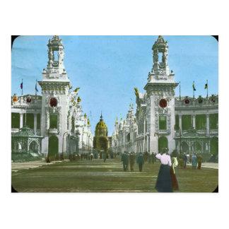 Palaces of the Esplanade des Invalides Postcard