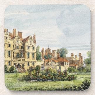 Palacio al norte delantero, viejo, del jardín de l posavasos