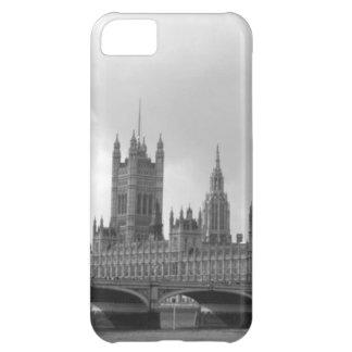 Palacio blanco negro de Westminster Funda Para iPhone 5C