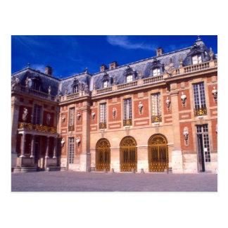 Palacio/castillo francés de Versalles Tarjeta Postal