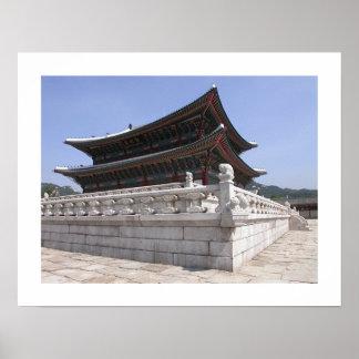 Palacio coreano poster