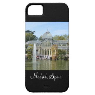 Palacio cristalino, caso del iPhone 5 de Madrid Funda Para iPhone SE/5/5s
